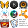 Few best leftover mac os x applications icon