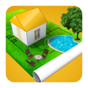Home design 3d outdoor garden icon