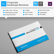 Corporate business brochure 02 plantilla indd icon