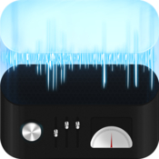 Audio cutter cut and split music files icon