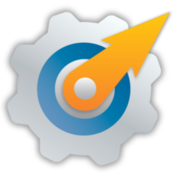 Deliver express automated file delivery with hot folder processing icon