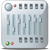 Djmixerpro professional dj software compatible with itunes playlists icon