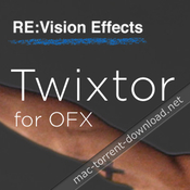 Revisionfx twixtor pro for ofx icon