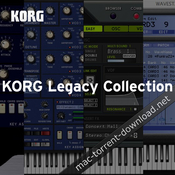 KORG Legacy Collection Special Bundle 1 1 1 download free | Mac