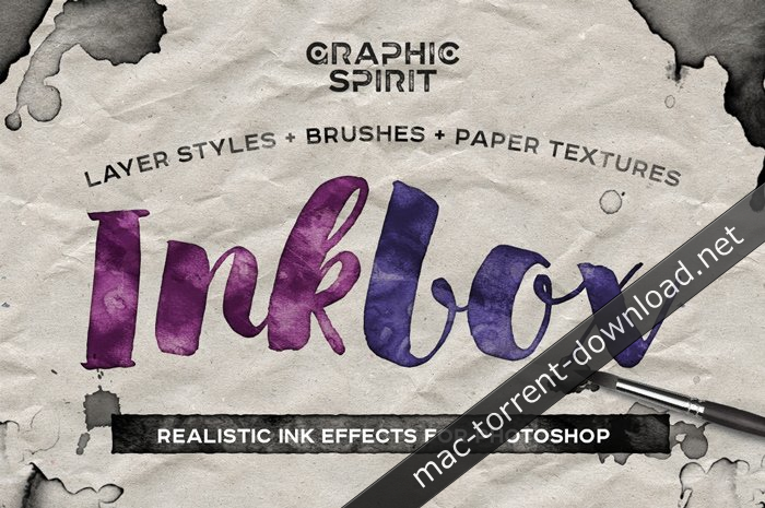 Realistic ink Effects for Photoshop