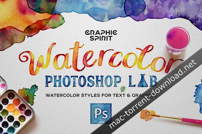 Watercolor Photoshop Lab