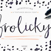 creativemarket_frolicky_a_brushed_font_plus_extras_363365_eyecatch_img