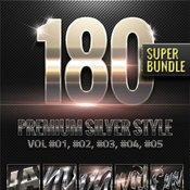 180 metallic silver style super bundle 11924866 icon