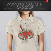 Womens polo shirt mock up 6241364 icon
