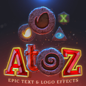 Atoz epic text and logo effect 12811271 icon