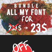 Bundle all my font 12815578 icon