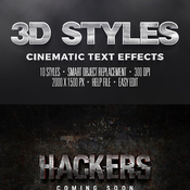 Cinematic text effects vol3 11665907 icon