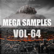 Mega samples vol64 logo icon