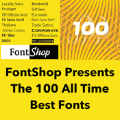 FontShop presents: The 100 all time Best Fonts download free | Mac