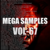 Mega samples vol 67 logo icon