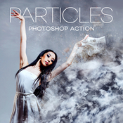 Particles photoshop action by hyperpix 17283359 icon