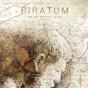 Piratum map art photoshop action by profactions 17397967 icon