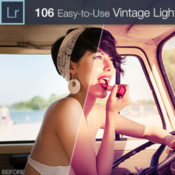 Vintage lr presets collection 106 presets from 4 sets icon