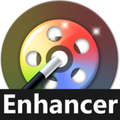 Video editor enhancer video quality editing icon