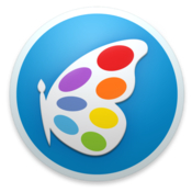 Patina paint draw and sketch with ease icon