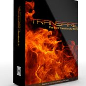 Transfire fire burst transitions for fcpx icon