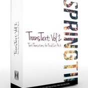 Transtext volume 2 text transitions for fcpx icon
