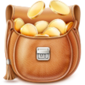 Moneybag personal finance manager icon