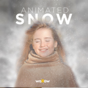 Animated snow photoshop action 18981598 icon