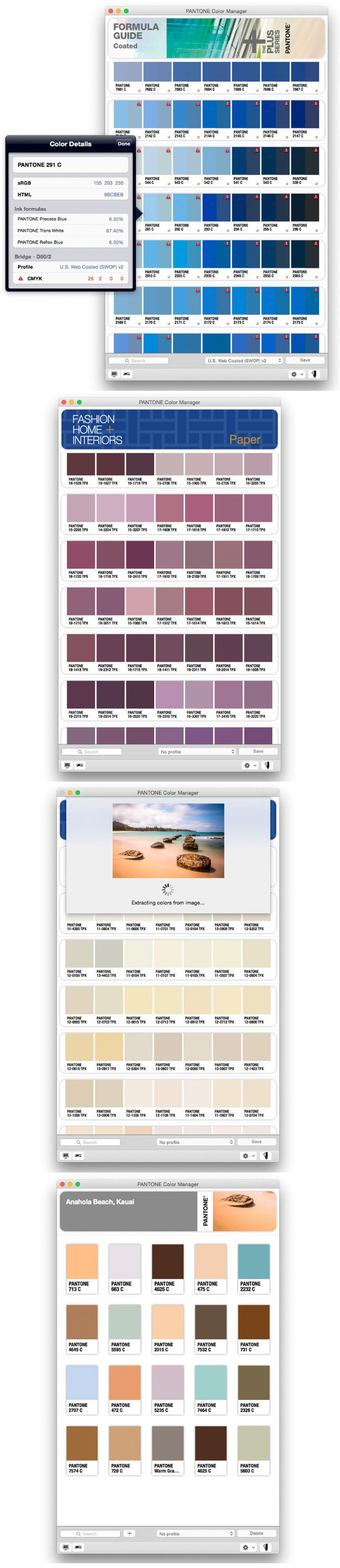 PANTONE Color Manager 2 2 0 Free Download | Mac Torrent Download