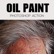 Oil paint photoshop action 19161052 icon