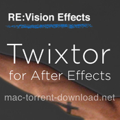 Re visionfx twixtor pro for ae icon