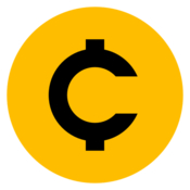 Coiney a menubar cryptocurrency ticker icon