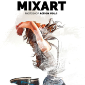 Graphicriver mixart photoshop action vol 1 12058155 icon