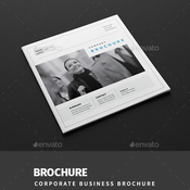 Corporate business square brochure 17706350 plantilla indd icon