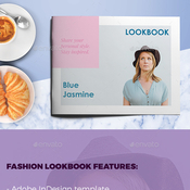 Fashion lookbook plantilla indd icon