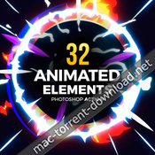 GraphicRiver 32 animated effects action 19497071 acciones ps icon