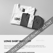 Long shirt mock up 14738798 icon