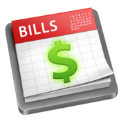 Bills plan and track your expenses every month icon