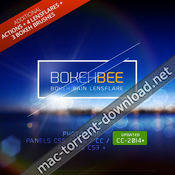 Bokehbee panel for adobe photoshop icon