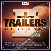 Boom library cinematic trailers designed 2 stereo and surround icon