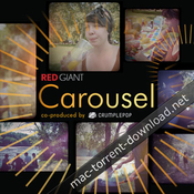Crumplepop red giant carousel vintage camera fcpx plugin icon