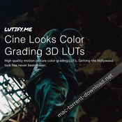 Lutify me cine looks color grading 3d luts icon