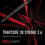 Red Giant Trapcode 3D Stroke 26 icon