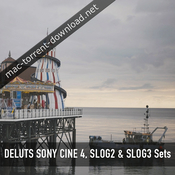 Deluts sony cine4 slog2 slog3 sets icon