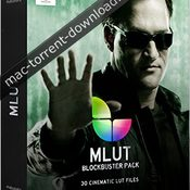 Motionvfx mlut blockbuster pack icon