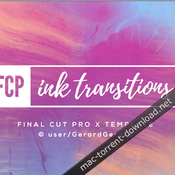 Ink transitions fcpx icon