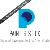 Paint and stick for ae icon