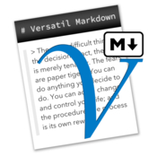 Versatil markdown icon