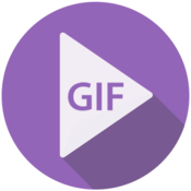 Video gif creator convert video or images to gif icon