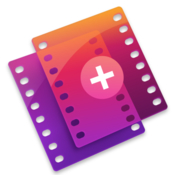 Action camera master video merge icon